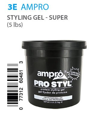 [Ampro-box#3E] Pro Styl Protein Styling Gel Super Hold (5LB)
