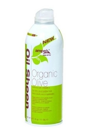 [Ampro-box#21] Oil Sheen -Organic Olive(11 oz)
