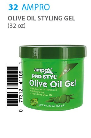 [Ampro-box#32] Olive Oil Styling Gel (32 oz)