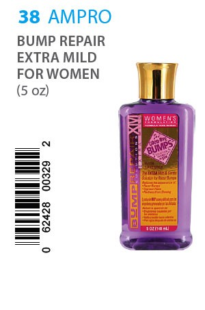 [Ampro-box#38] Bump Repair Solutions (5oz) Extra Mild (Women)