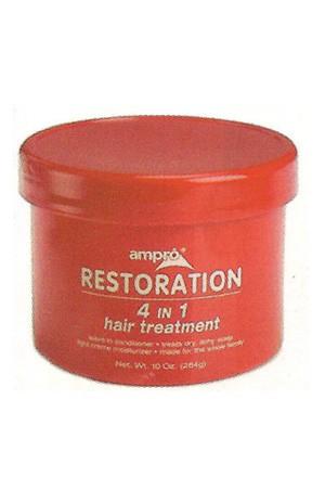 [Ampro-box#8] Restoration 4 IN 1 Cond. Hair Treatment(10oz)