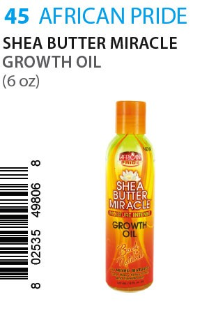 [African Pride-box#45] SB Miracle Growth Oil (6oz)