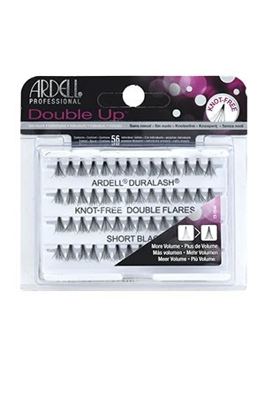 [Ardell] Double Up Eyelashes #Knot Free (Short Black)