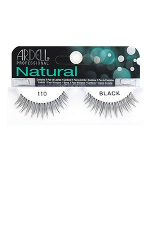 [Ardell] Natural Eyelashes #110 (Black)