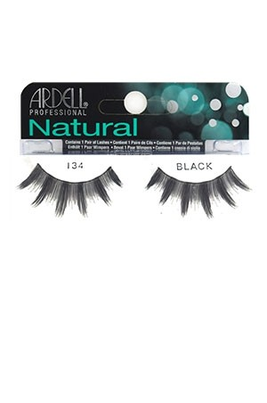 [Ardell] Natural Eyelashes #134 (Black)