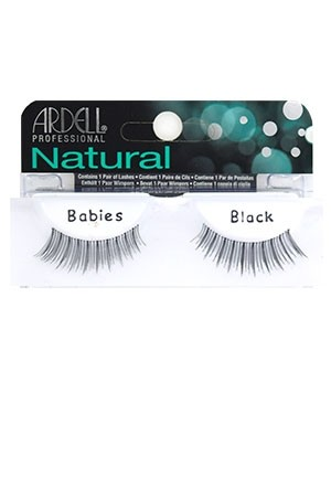 [Ardell] Natural Eyelashes #Babies (Black)