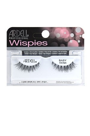 [Ardell] Wispies Eyelashes #Baby Demi (Black)