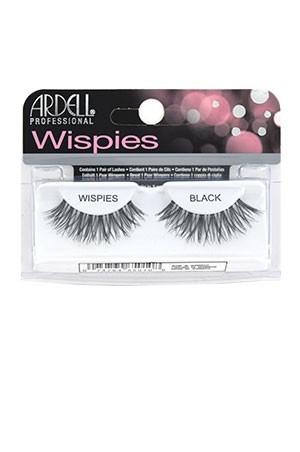 [Ardell] Wispies Eyelashes #Wispies (Black)
