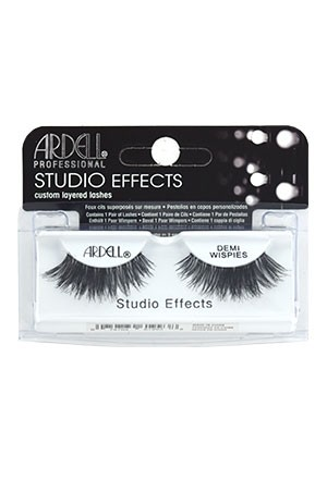 [Ardell] Studio Effects Eyelashes #Demi Wispies (Black)