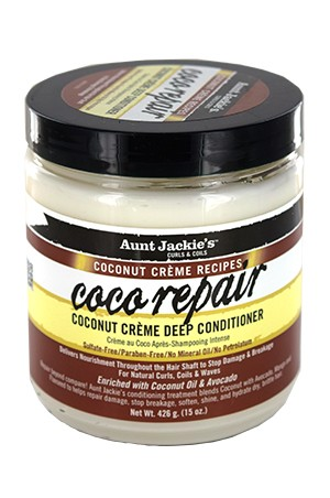 [Aunt Jackie's-box#23] Coconut Creme Coco Repair Conditioner(15oz)