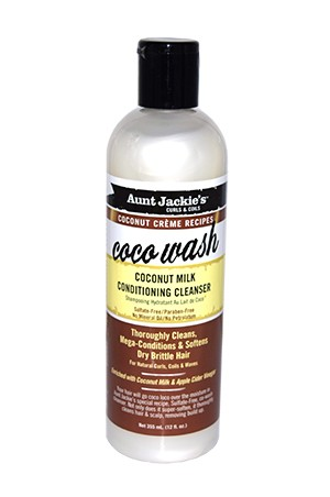 [Aunt Jackie's-box#24] Coconut Creme Coco Wash Cleanser(12oz)