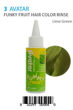 [Avatar-box#5] Funky Fruit Hair Color Rinse #Lime Green