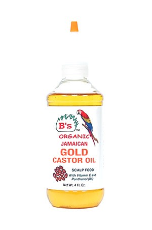 [B's Organic-box#25] Jamaican Gold Castor Oil Scalp Food (8oz)