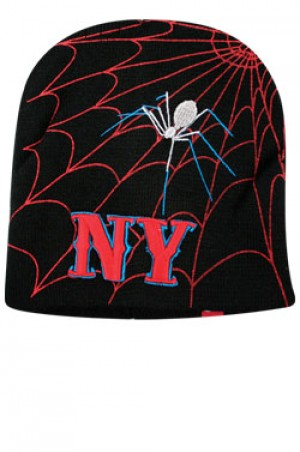 NY Knit Spider Cap  - #BE1045
