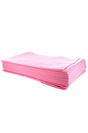 [#5517] Disposable Bed Sheet (Pink) -pk