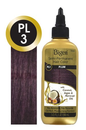 [Bigen-box#28] Semi-Permanent Hair Color #PL3 Plum