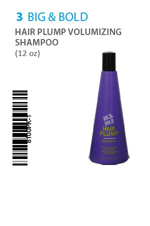 [Big& Bold-box#3] Hair Plump Shampoo(12oz)