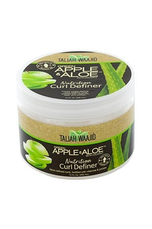 [Taliah Waajid-box#59] Black Earth Apple Aloe Curl Definer (12 oz)