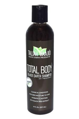 [Taliah Waajid-box#3] Black Earth Products Total Body Black Earth Shampoo -8oz