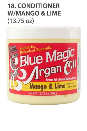 [Blue Magic-box#18] Argan Oil Conditioner W/Mango&Lime(13.75oz)