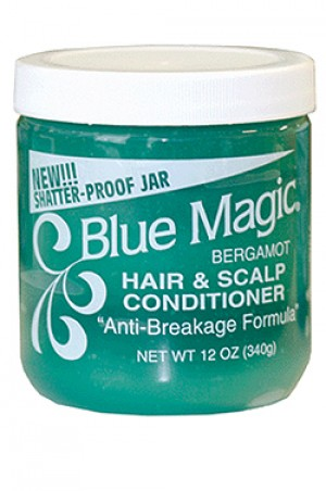 [Blue Magic-box#2] Bergamot Hair & Scalp Conditioner (12 oz)