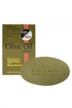 [Black & White-box#6] Olive Oil Soap (6.1 oz)