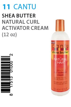 [Cantu-box#11] Shea Butter Natural Curl Activator Cream (12oz)