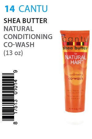 [Cantu-box#14] Shea Butter Natural Conditioning Co-Wash (10oz)