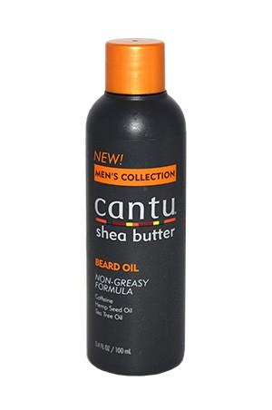 [Cantu-box#36] Men's Shea Butter Beard Oil (3.4oz)