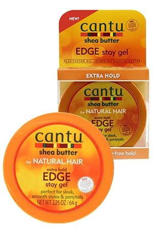 [Cantu-box#48] Shea Butter Extra Hold Edge Style Gel (2.25 oz)