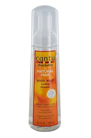 [Cantu-box#50] Shea Butter Natural Wave Whip Curing Mousse (8.4 oz)
