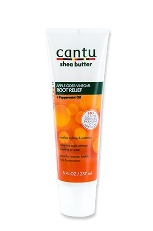 [Cantu-box#57] Shea Butter Root Relief+Peppermint Oil (8oz)