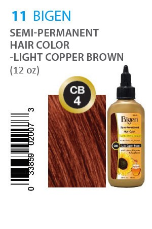 [Bigen-box#11] Semi-Permanent Hair Color #CB4 Ligh Copper Brown