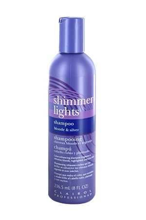 [Clairol-box#17] Shimmer Lights Shampoo Blond & Silver (8oz)