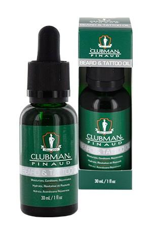 [Clubman-box#10] Pinaud Beard & Tattoo Oil (1oz)