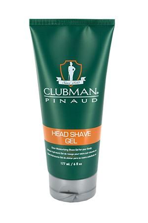 [Clubman-box#9] Pinaud Head Shave Gel (6oz)