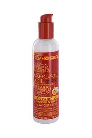 [Creme of Nature-box#100] Argan Oil Blow Out Creme (7.6oz)