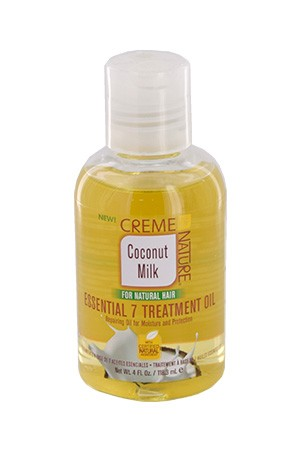 [Creme of Nature-box#101] Coconut Milk Essential 7Treatmen Oil(4oz)
