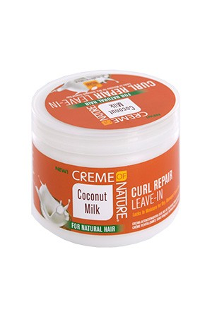 [Creme of Nature-box#106] Coconut Milk Curl Repair Leave-In (11.5oz)