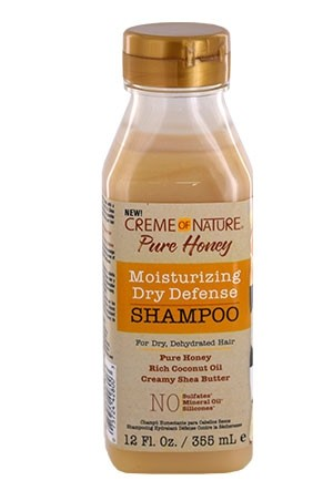 [Creme of Nature-box#110] Pure Honey Moisturizing Shampoo (12 oz)