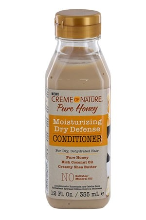 [Creme of Nature-box#111] Pure Honey Moisturizing Conditioner (12 oz)