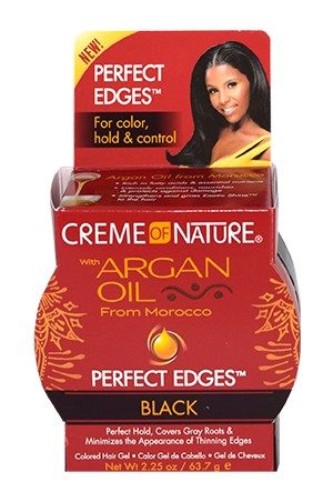 [Creme of Nature-box#96] Perfect Edges Black (2.25oz)
