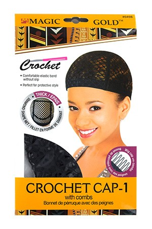 [MGC-#0498] Crochet Cap(thick)-1 with combs