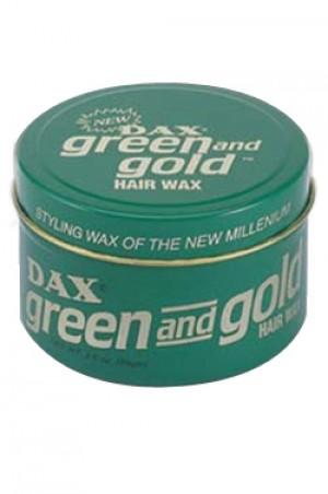 [Dax-box#7] Green & Gold Hair Wax-3.5oz