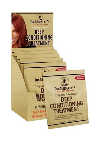 [Dr.Miracle's-box#16] Deep Conditioning Treatment (1.75oz/12pk/ds) -ds