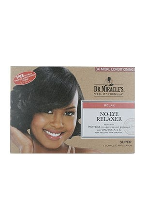 [Dr.Miracle's-box#6] No Lye Relaxer (Super)