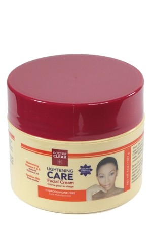 [Dr. Clear-box#2] Lightening Care Facial Creme-Double Strength (8oz)