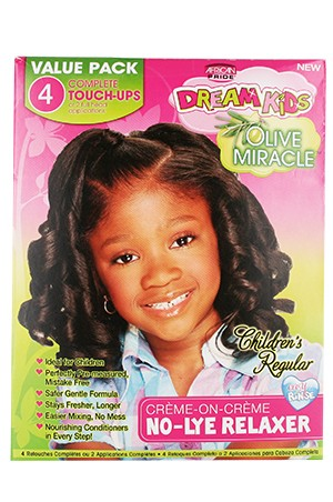[Dream Kids-box#17] Olive Miracle No-Lye Relaxer (4 Retouches) - Regular