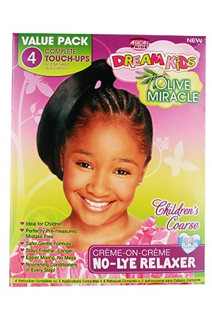 [Dream Kids-box#18] Olive Miracle No-Lye Relaxer (4 Retouches) - Coarse