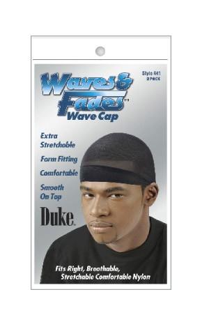 [Duke-box#23] Waves & Fades -#441 Wave Cap -Black (2packs)